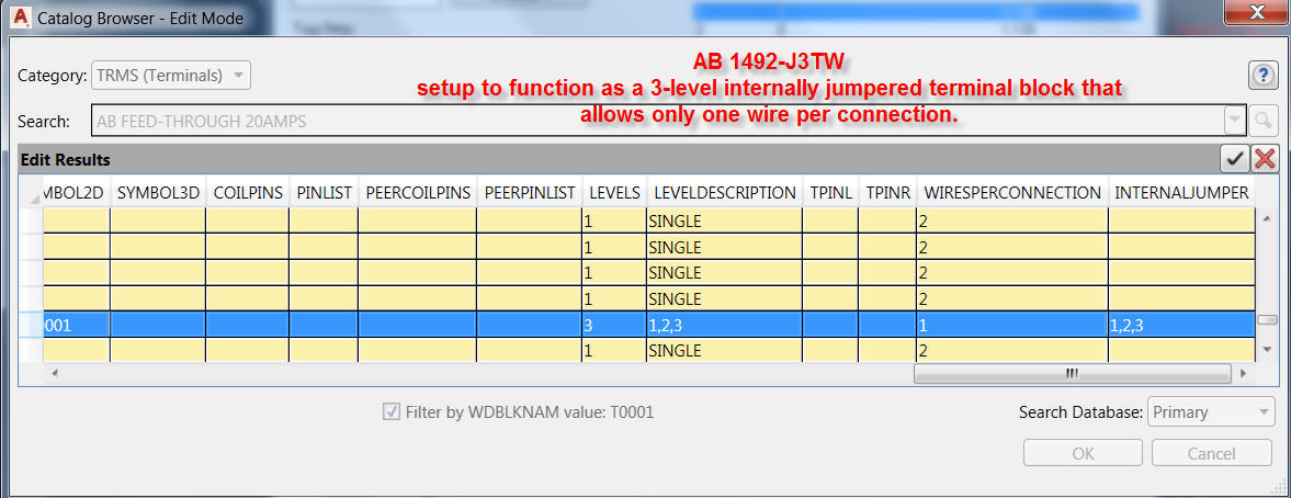 autocad electrical training tutorials webinars tips and tricks i insert 3 terminal symbols into the drawing and connect them to one another a wire layer d jumper bar as shown below