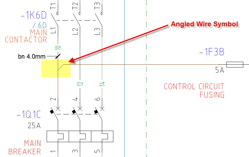 angled_wire_tee_symbol automated electrical drawing using autocad electrical 2016 autocad wiring diagram tutorial at bayanpartner.co