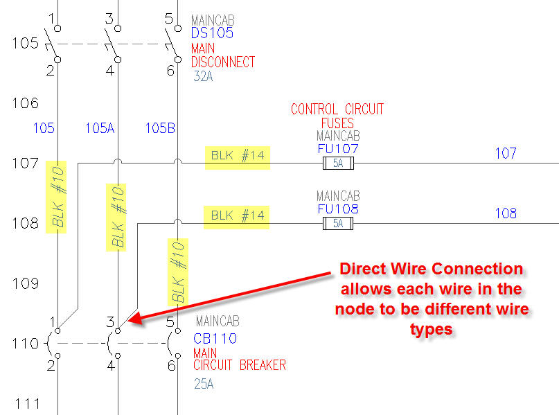 direct_wire_connection autocad electrical tutorials webinars tips and tricks betts electric motor wiring diagram at gsmx.co